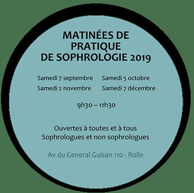 Matinée de pratique de sophrologie 2019